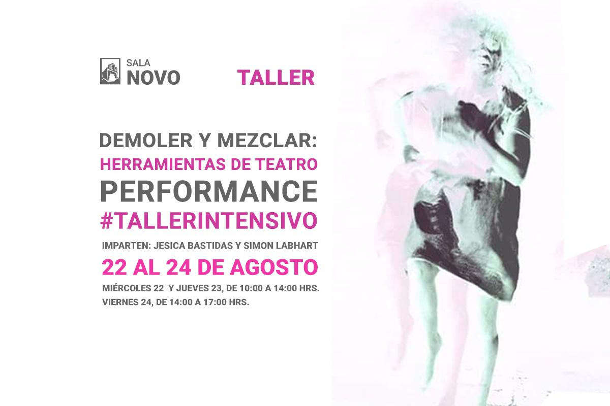 Demoler y mezclar: Herramientas de teatro performance