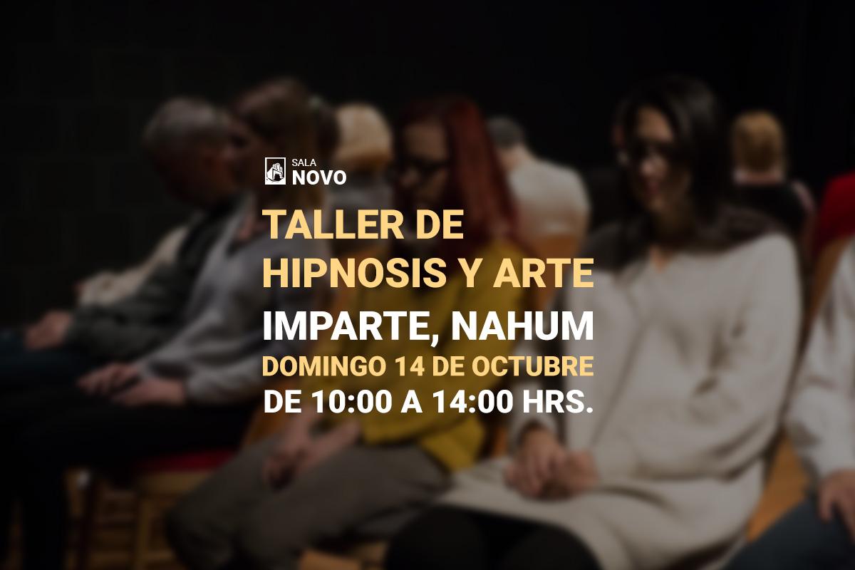 Taller, hipnosis y arte