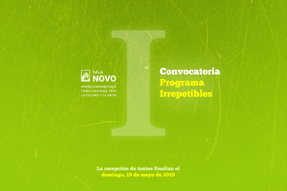 "Convocatoria ""Irrepetibles"""