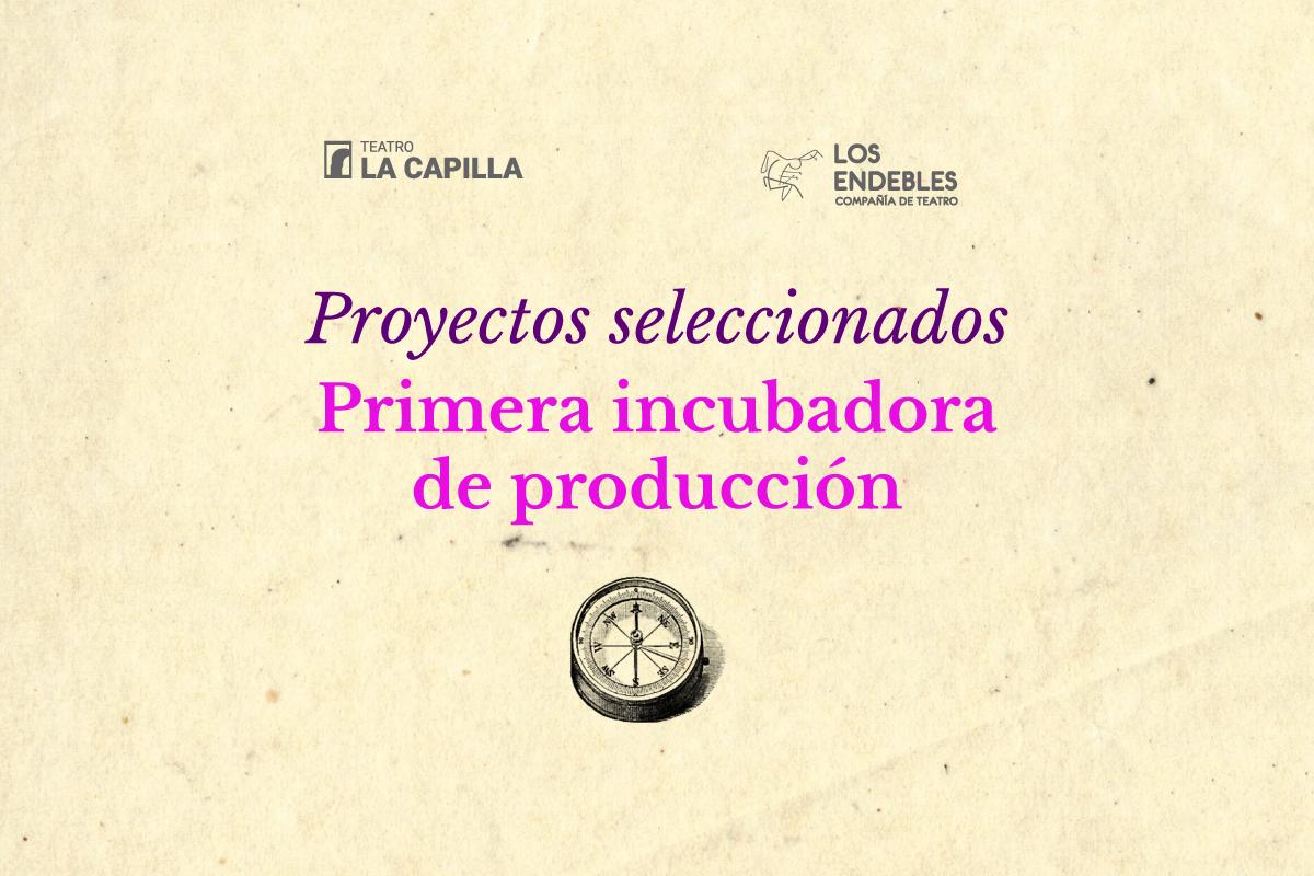 Incubadora de producción