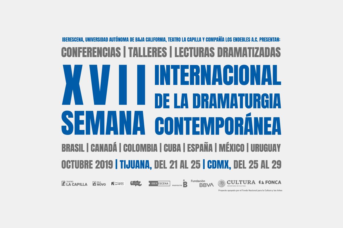 XVII SIDC, Programa