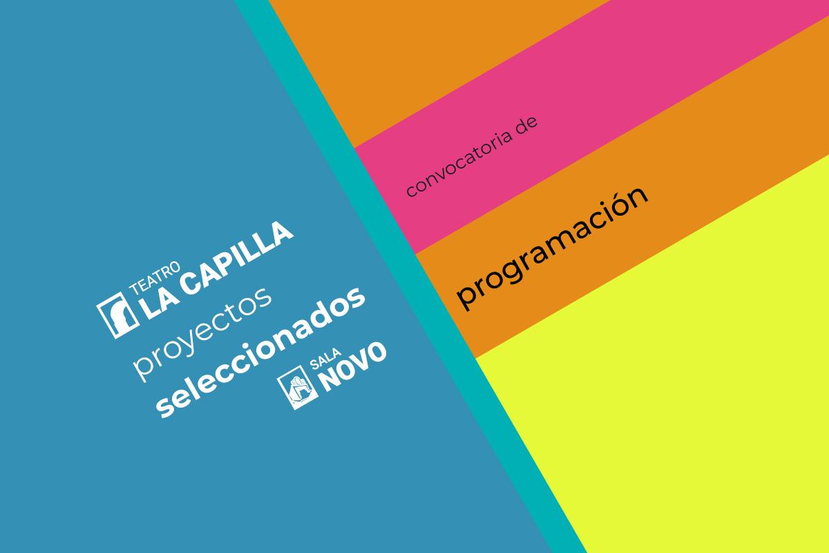 Convocatoria: Programación de junio a diciembre 2020