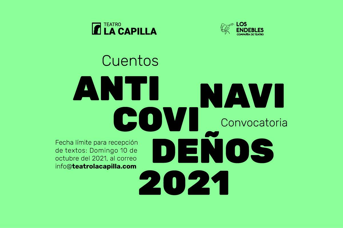 Convocatoria: Cuentos Antinavicovideños 2021